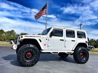 Used 2018 Jeep All-New Wrangler Unlimited JL RUBICON LIFTED LEATHER LOADED HARDTOP