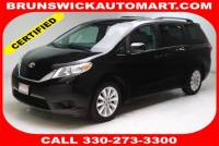 Certified Used 2015 Toyota Sienna LE in Brunswick, OH, near Cleveland