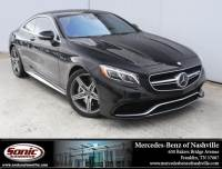 2015 Mercedes-Benz S-Class S 63 AMG 2dr Cpe 4matic in Franklin