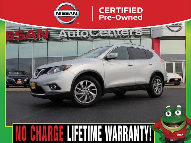 Photo Certified Used 2015 Nissan Rogue SL AWD - CERTIFIED PRE OWNED For Sale