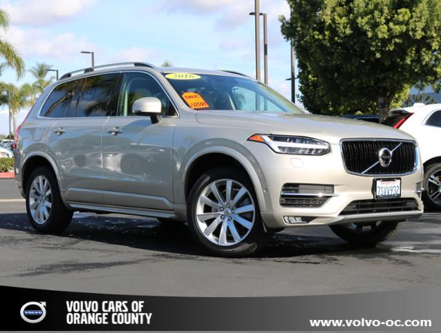 Photo Certified Used 2016 Volvo XC90 AWD T6 Momentum SUV for sale in Santa Ana CA