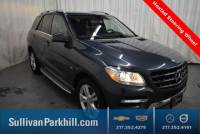 Certified Pre-Owned 2012 Mercedes-Benz M-Class ML 350 4MATIC® 4MATIC® 4D Sport Utility 87333 miles