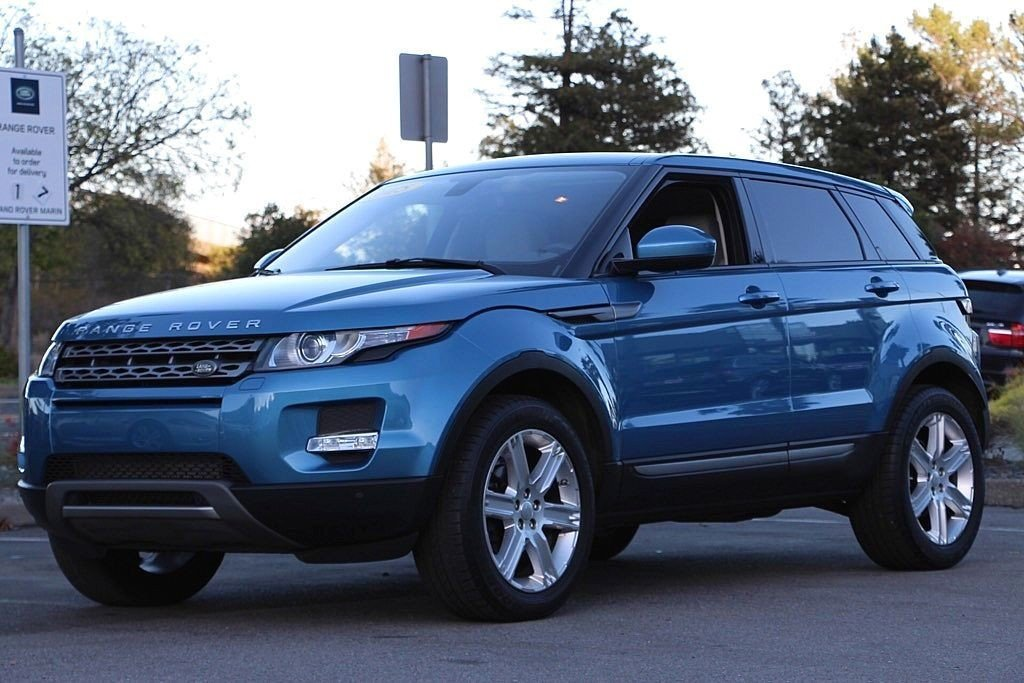 Photo Pre-Owned 2015 Land Rover Range Rover Evoque Pure SUV For Sale Corte Madera, CA