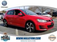 Certified 2016 Volkswagen Golf GTI Autobahn w/Performance Pkg HB DSG Autobahn w/Performance Pkg in Atlanta GA