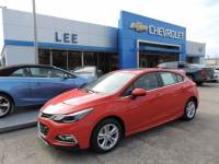 Pre-Owned 2017 Chevrolet Cruze Hatchback LT (Automatic) VIN 3G1BE6SM7HS560155 Stock Number 20785A
