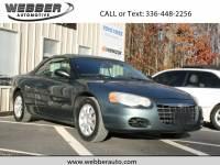 2006 Chrysler Sebring GTC Convertible