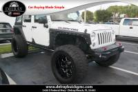 Pre-Owned 2015 Jeep Wrangler Unlimited Rubicon Hard Rock 4WD