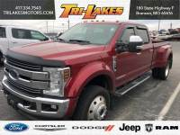 Used 2018 Ford Super Duty F-450 DRW LARIAT Pickup