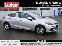 Certified Pre-Owned 2017 Chevrolet Cruze Hatchback LT (Automatic)