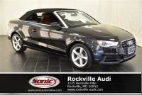 Used 2016 Audi A3 2.0T Premium Cabriolet in Rockville, MD