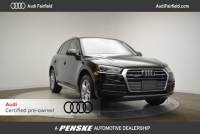 Certified Pre-Owned 2018 Audi Q5 2.0T Premium SUV in Fairfield, CT