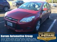 Used 2014 Ford Focus SE Sedan 4-Cylinder DGI DOHC for Sale in Puyallup near Tacoma