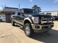 2013 Ford F-250 SD King Ranch 4WD
