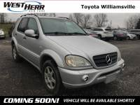 2001 Mercedes-Benz M-Class ML 430 SUV For Sale - Serving Amherst