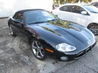 2002 Jaguar XKR Base Convertible Rear-wheel Drive