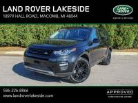 Certified Pre-Owned 2017 Land Rover Discovery Sport HSE for Sale in Macomb near Grosse Pointe