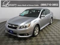 Pre-Owned 2013 Subaru Legacy 2.5i Limited Sedan for Sale in Sioux Falls near Brookings
