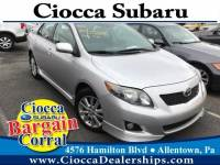 Used 2010 Toyota Corolla S For Sale in Allentown, PA