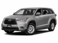 2016 Toyota Highlander SUV Front-wheel Drive