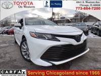 Certified Used 2018 Toyota Camry LE Sedan Front-wheel Drive in Chicago