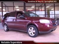 2008 Chevrolet Uplander LT Minivan/Van FWD For Sale in Springfield Missouri