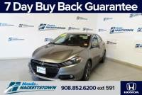 Used 2013 Dodge Dart For Sale in Hackettstown, NJ at Honda of Hackettstown Near Dover | 1C3CDFBH4DD219358