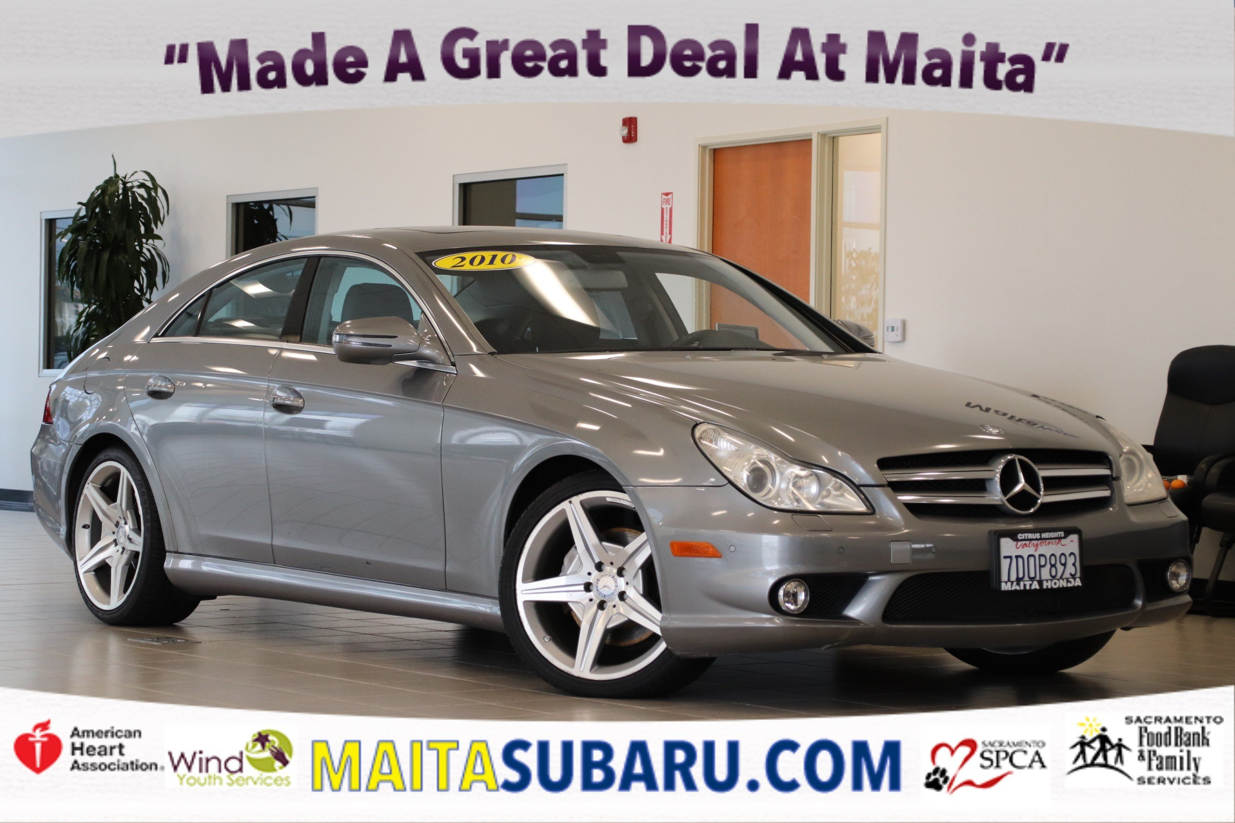 Photo Used 2010 Mercedes-Benz CLS-Class CLS 550 Available in Sacramento CA