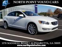 Certified Used 2016 Volvo S60 T5 Platinum Inscription Sedan near Atlanta