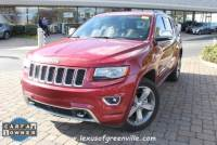 Pre-Owned 2014 Jeep Grand Cherokee Overland 4x2 SUV in Greenville SC