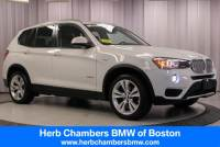 2016 BMW X3 xDrive28i SAV near Boston