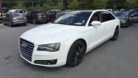 Used 2012 Audi A8 L 4.2 FSI White For Sale   Bennington VT   VIN:WAURVAFD9CN004447