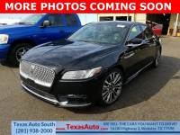 2017 Lincoln Continental Reserve All-wheel Drive