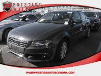 2011 Audi A4 2.0 T Sedan FrontTrak Multitronic