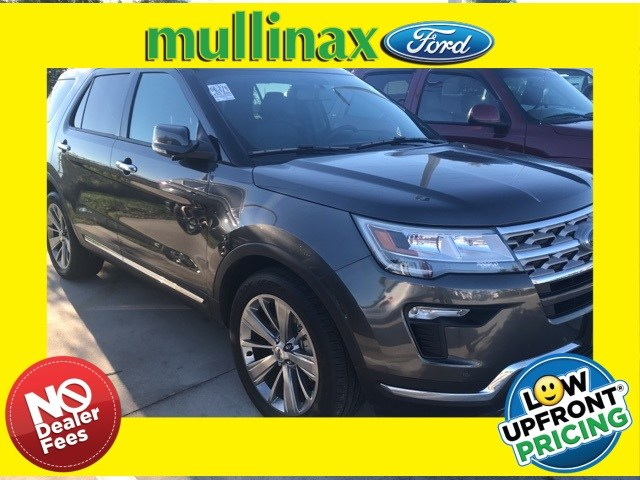 Photo Used 2018 Ford Explorer Limited W 2ND ROW Bucket Seats, Navigation SUV I-4 cyl in Kissimmee, FL