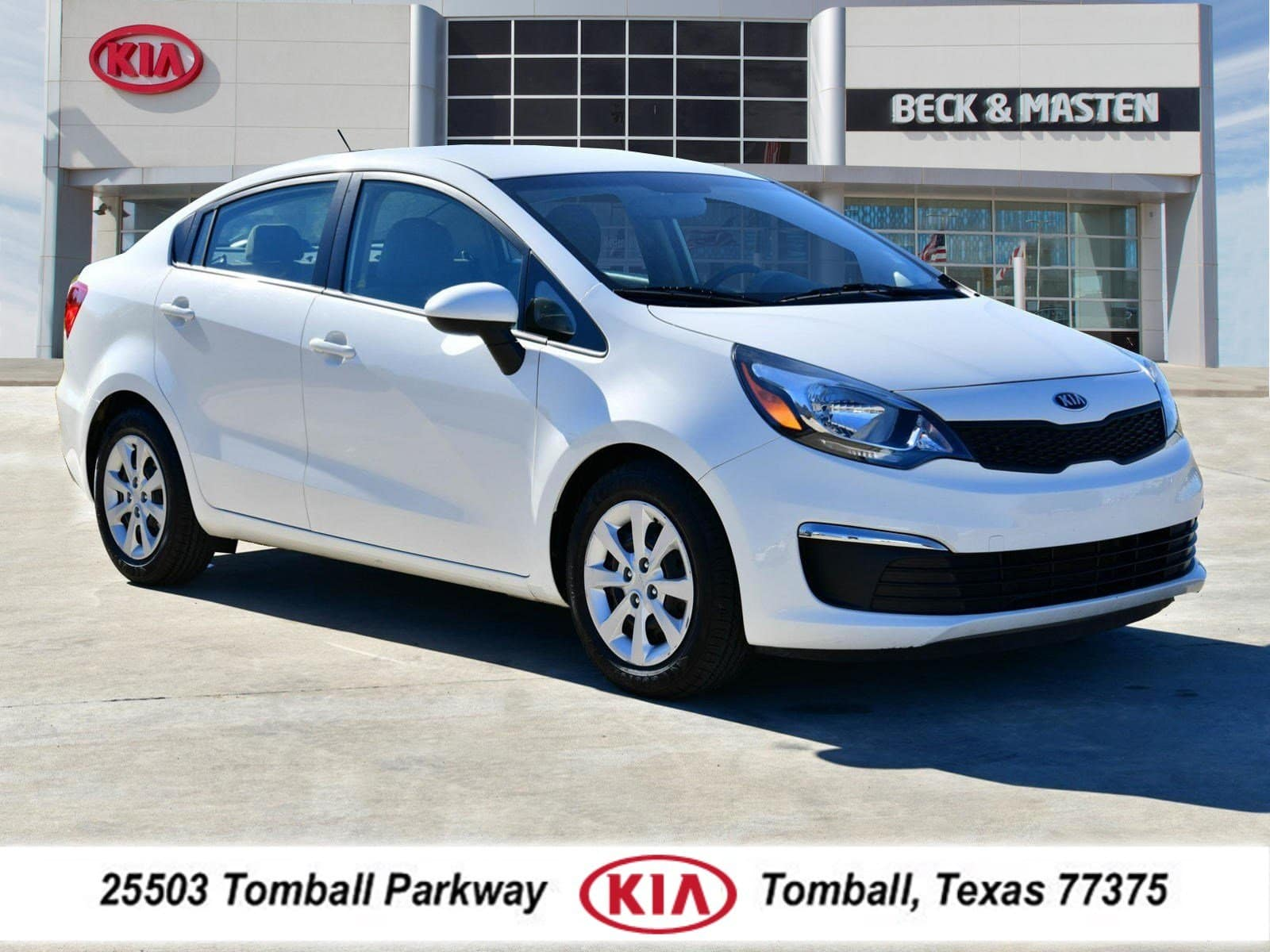 Photo 2017 Kia Rio LX Sedan near Houston in Tomball, TX