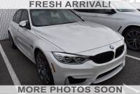 Certified Pre-Owned 2016 BMW M3 With Navigation