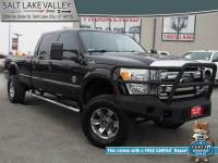 Used 2013 Ford Super Duty F-350 SRW 4WD Crew Cab 172 Lariat Truck For Sale in Salt Lake City, UT