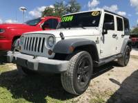 2010 Jeep Wrangler Unlimited Sport SUV For Sale in LaBelle, near Fort Myers