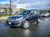 Certified Pre-Owned 2014 Subaru Outback 4dr Wgn H4 Auto 2.5i Pzev in Walnut Creek