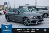 Pre-Owned 2015 Mercedes-Benz C-Class C 300 4Matic w/ AMG Pkg/Led/Nav/Sunroof AWD 4MATIC 4dr Car