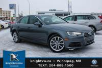 Pre-Owned 2017 Audi A4 AWD w/ Nav/Sunroof/Leather/Backup Camera AWD 4dr Car