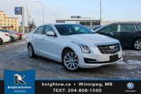 Pre-Owned 2018 Cadillac ATS Sedan AWD w/ Luxury Pkg/Bose Sound System/Sunroof/App Connect AWD 4dr Car