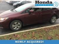 Certified 2014 Honda Civic LX Sedan