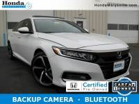Certified 2018 Honda Accord Sport 2.0T Sedan