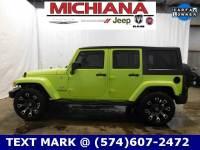Certified Used 2017 Jeep Wrangler JK Unlimited Sahara 4x4 SUV near South Bend & Elkhart