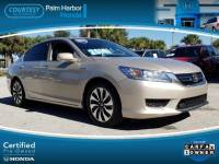 Pre-Owned 2014 Honda Accord Hybrid Touring Sedan in Tampa FL