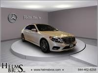 Pre-Owned 2015 Mercedes-Benz S 550 Sport AWD 4MATIC®
