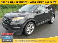 Certified 2015 Ford Explorer Limited SUV V-6 cyl in Marlow Heights, MD
