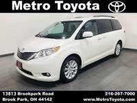 Certified Pre-Owned 2015 Toyota Sienna XLE Premium in Brook Park, OH Near Cleveland
