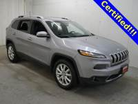 Used 2016 Jeep Cherokee Limited 4x4 SUV in Burnsville, MN.